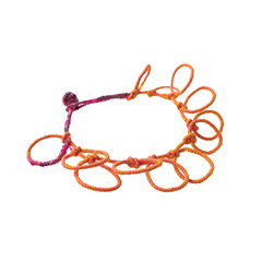Orange-with-Pink-Print-and-Knotted-Loops-BCT